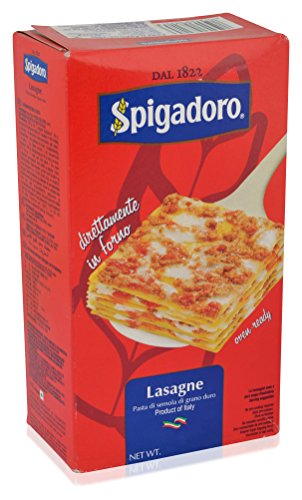 SPIGADORO LASAGNE 500g - All varieties,4.00