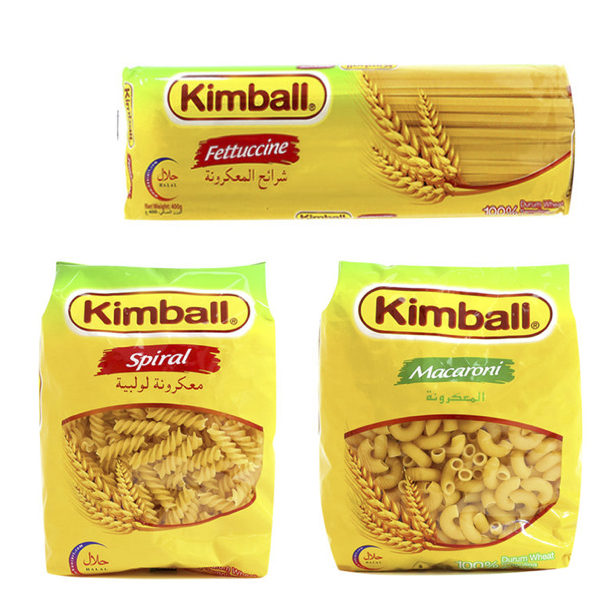 Kimball Pasta 400g - All varieties,0.50