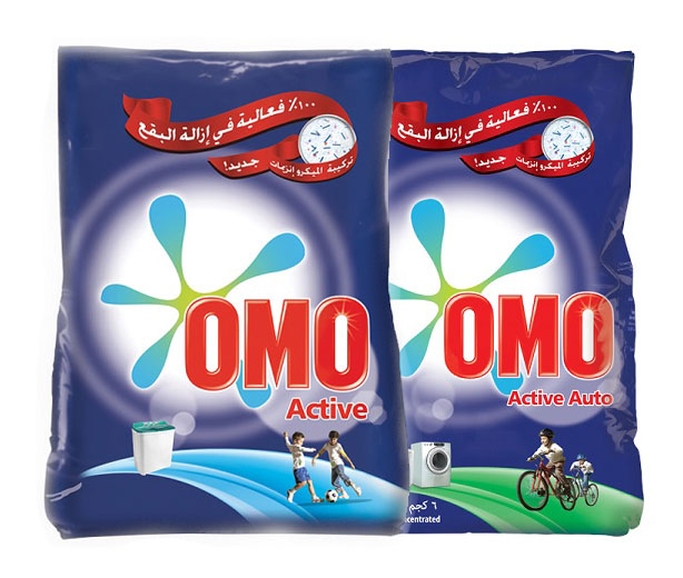OMO  Washing Powder (Active & Active Auto) - 6 kg,32.92