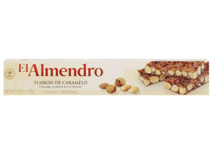 El Almendro Turron Caramelo 150g,7.00