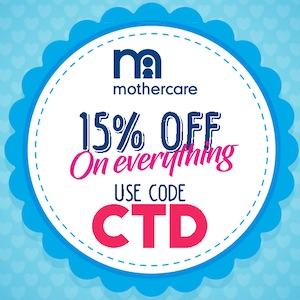 Get 15% Off Everything on Mothercare,0.00