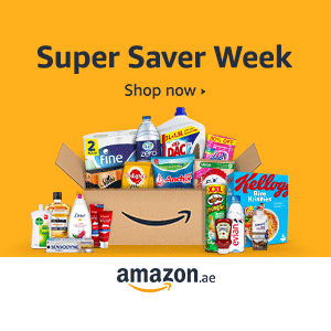 Super Saver Week up to 40% + Extra 15% off with code SAVE15 on Amazon.ae,0.00