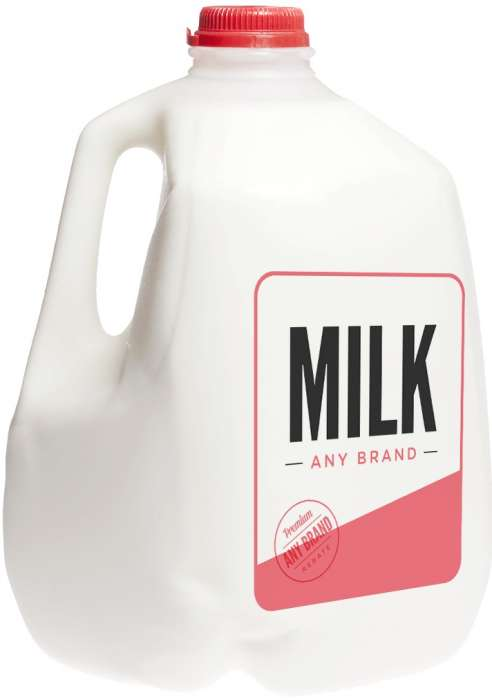 Fresh Milk - Any Brand (2L & Above),1.00