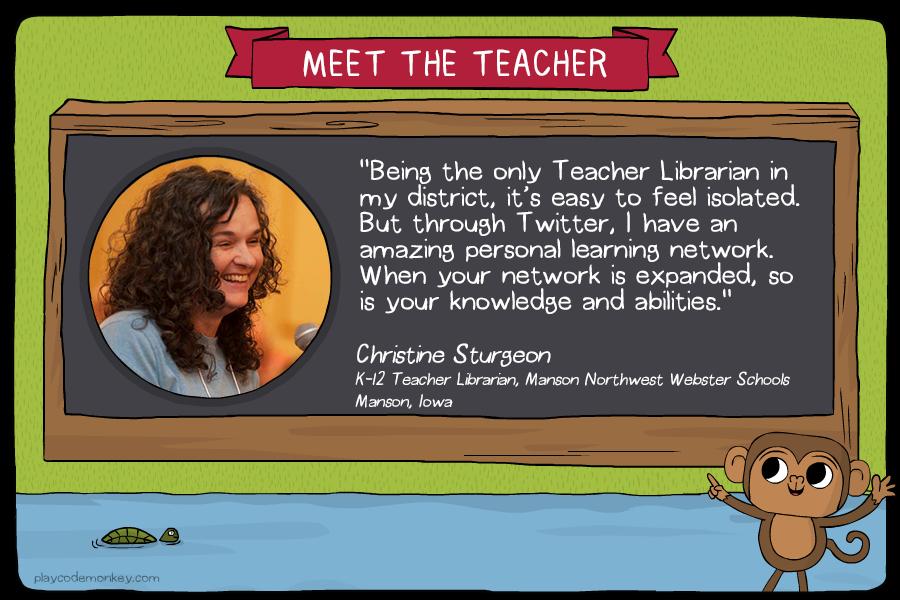 meet the teacher Christine Sturgeon