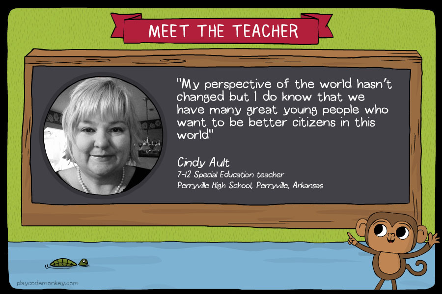 meet the teacher Cindy Ault