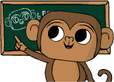 Monkey teacher trial