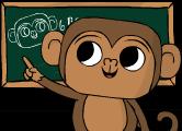 Monkey teacher trial