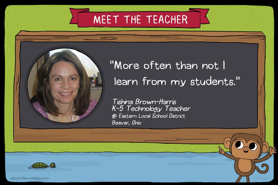 meet the teacher tishina brown harris