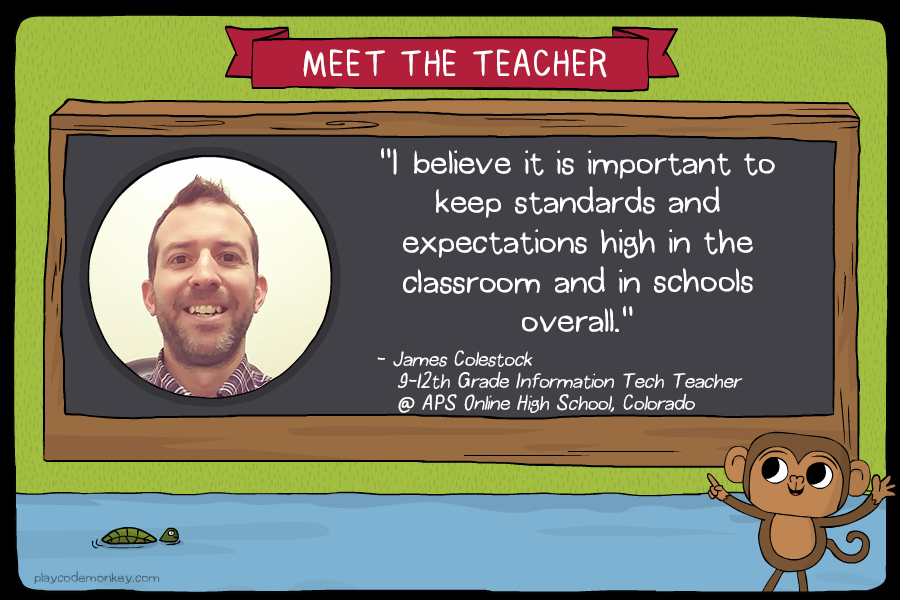 meet the teacher james colestock