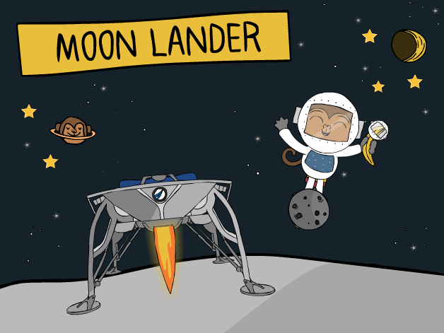 Moon Lander course cover image