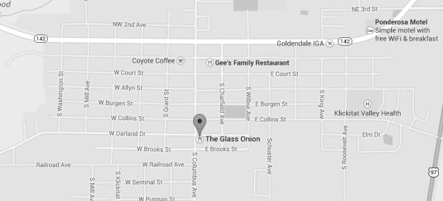 Go to Google map for The Glass Onion Restaurant
