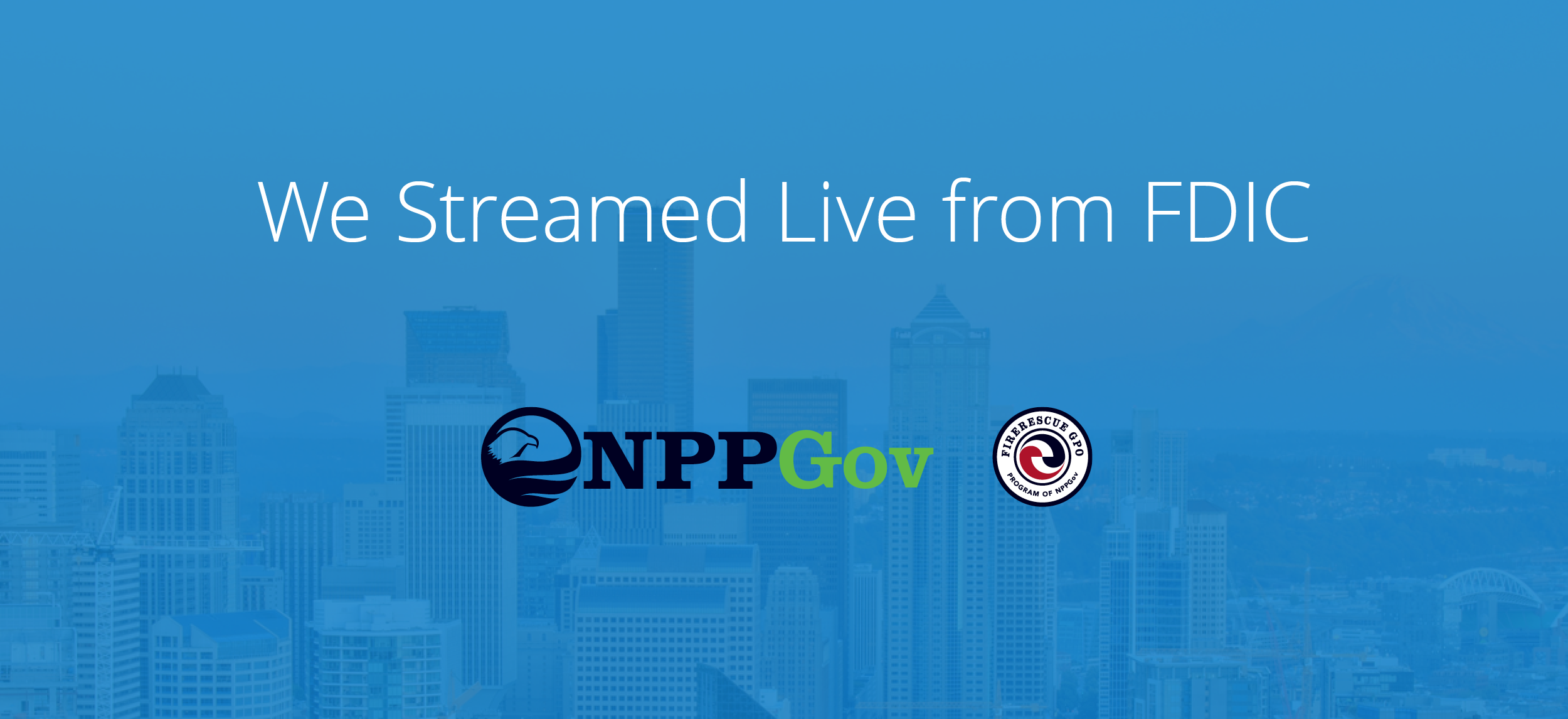 We Streamed Live From FDIC 2018