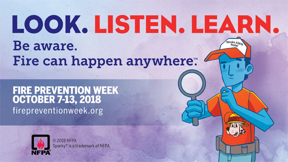 Oct 7-13 National Fire Prevention
