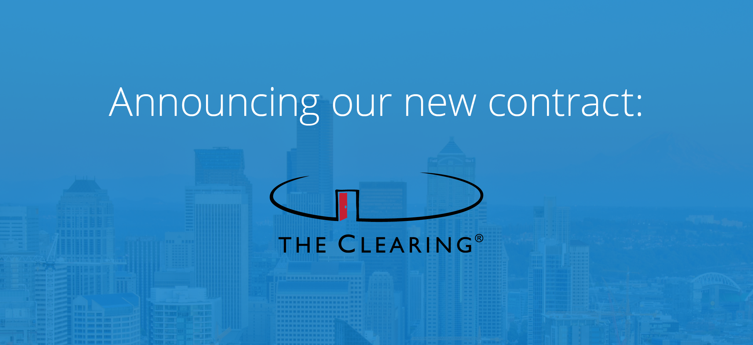 Announcing The Clearing: Our Newest Contract