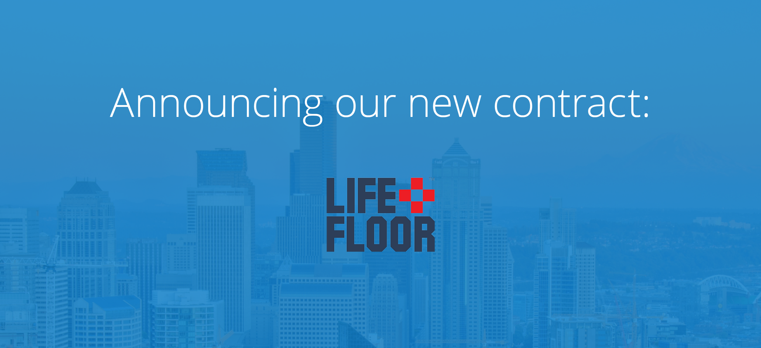 Life Force: Our Newest Contract