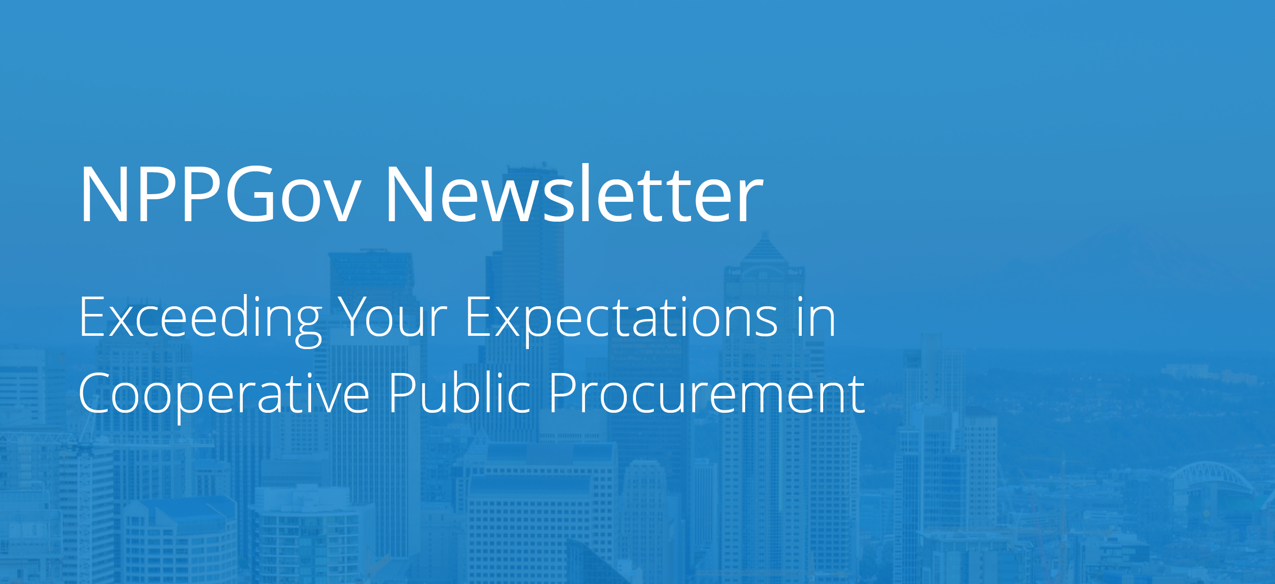 Your NPPGov Q3 Newsletter