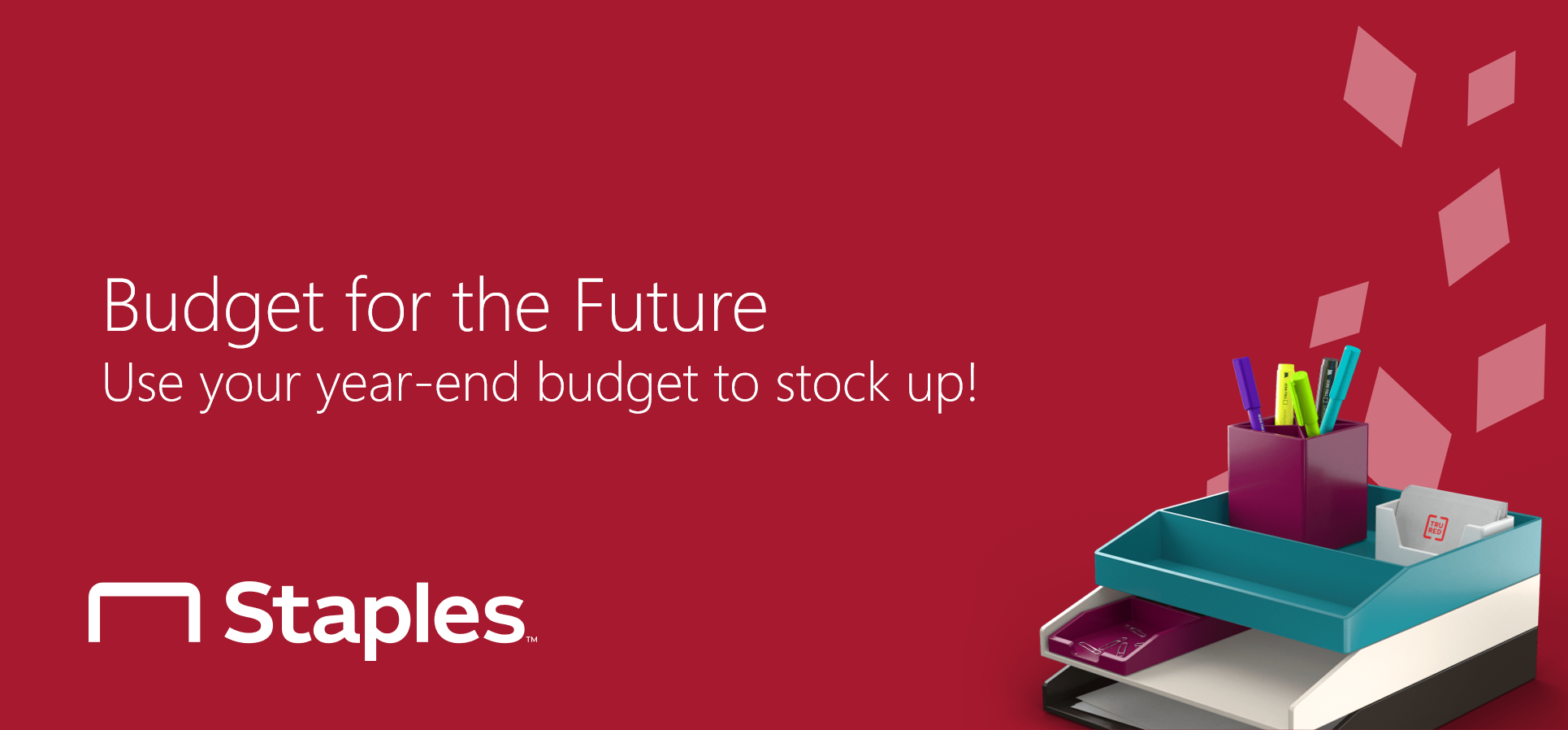 Budget for the Future with NPPGov and Staples