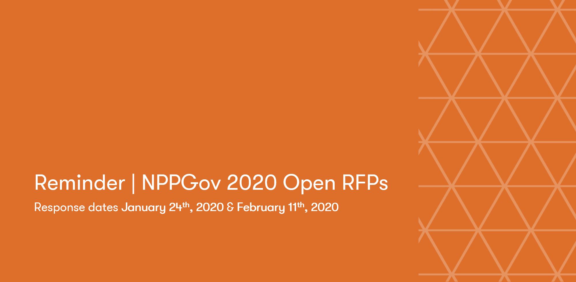 RFP Announcement