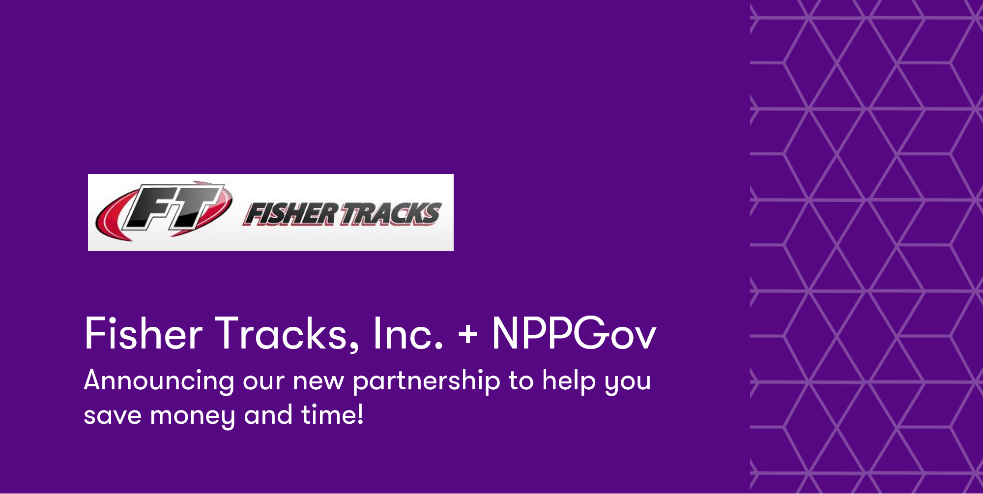New Contract with Fisher Tracks, Inc.