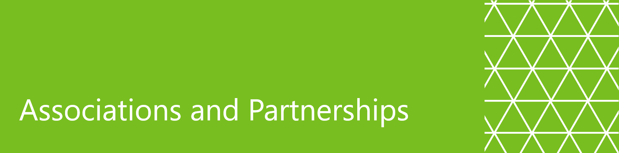 Associations and Partnerships