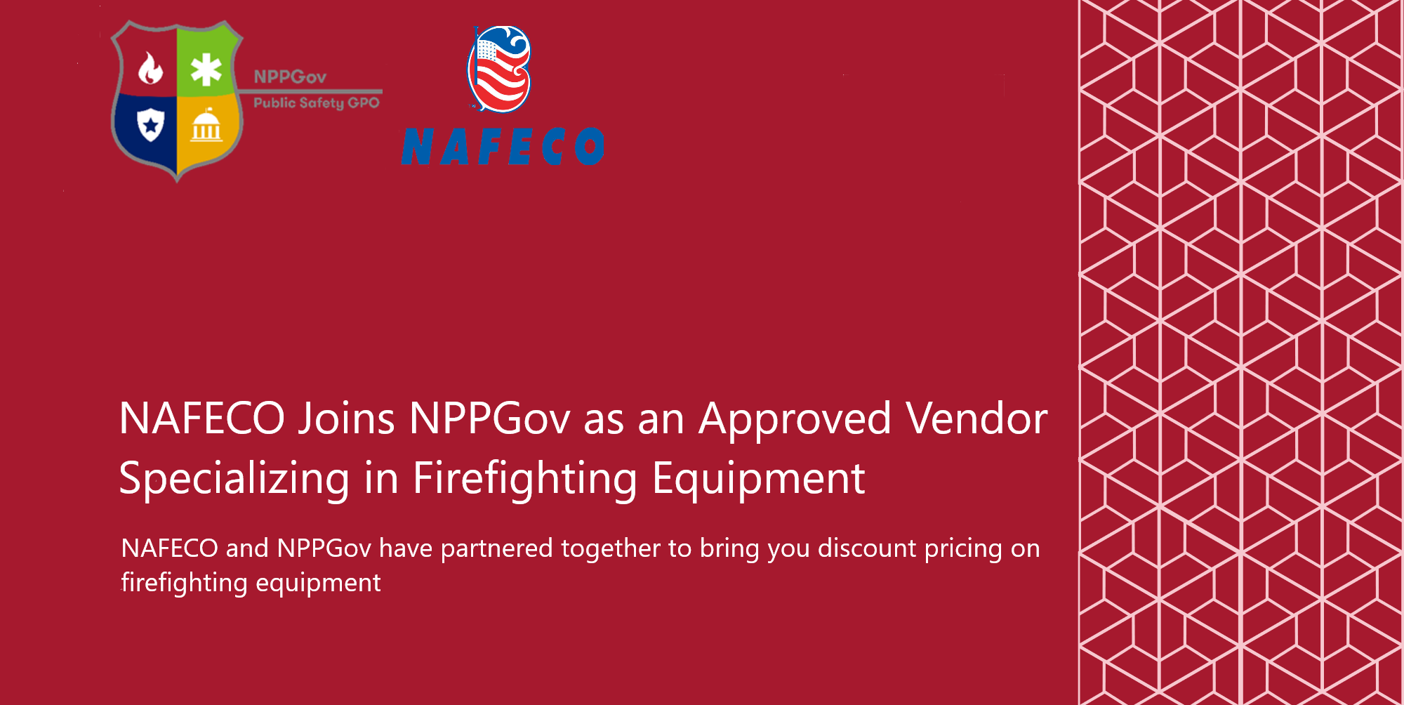 NAFECO Joins NPPGov as an Approved Vendor Specializing in Firefighter Equipment