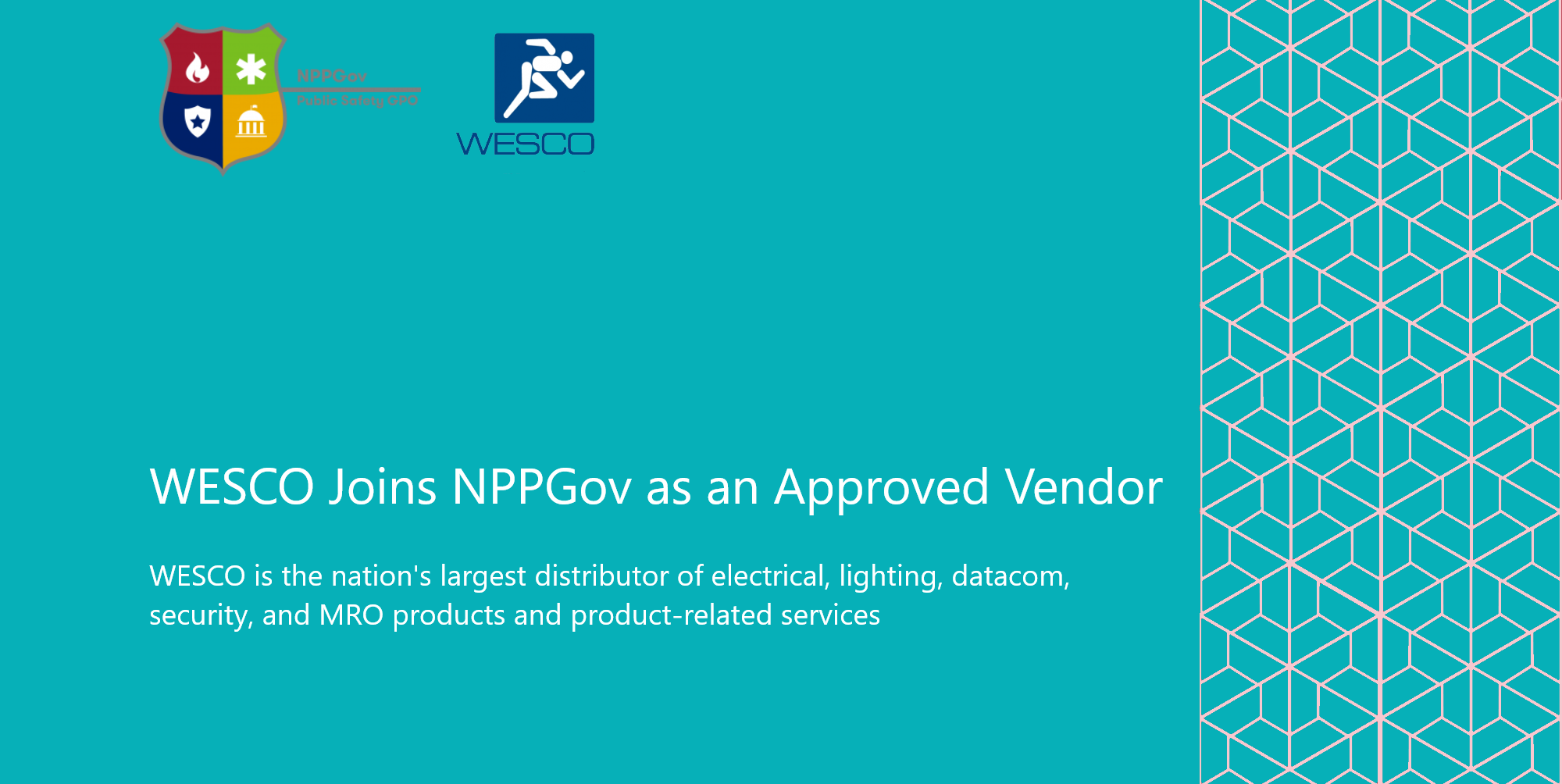 WESCO Joins NPPGov as an Approved Vendor