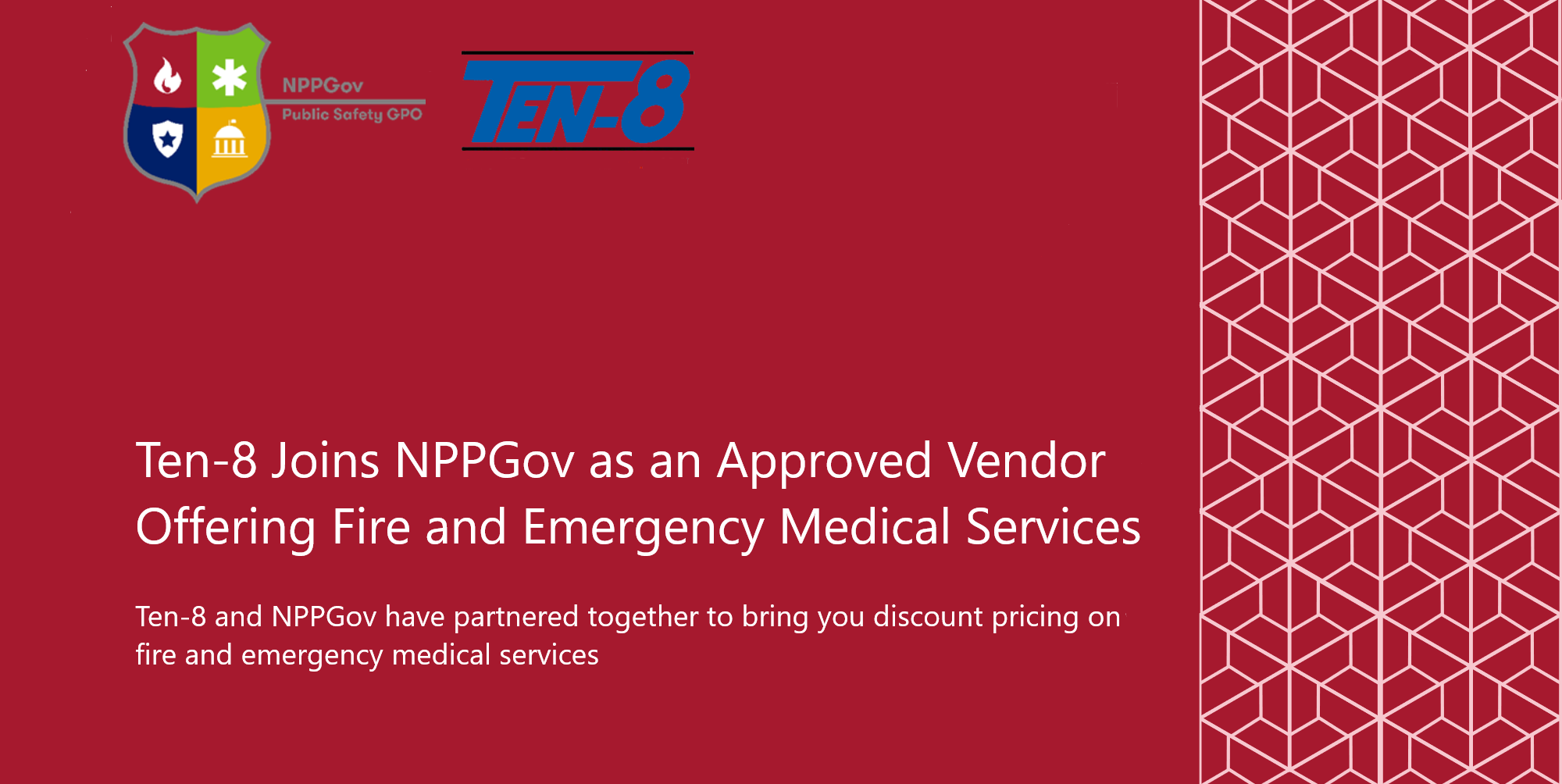 Ten-8 Joins NPPGov as an Approved Vendor