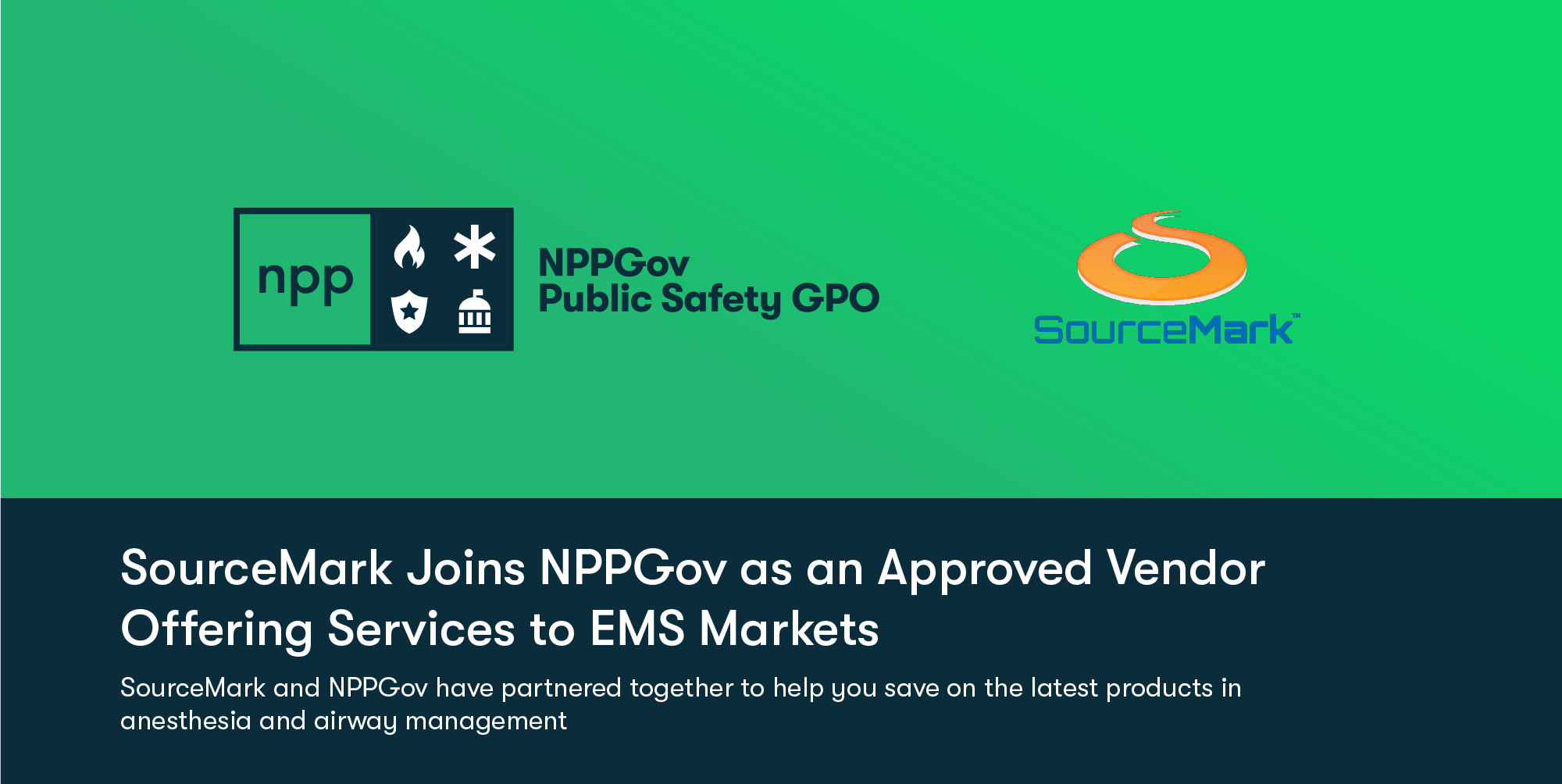 NPPGov Signs SourceMark as a Vendor for its GPO
