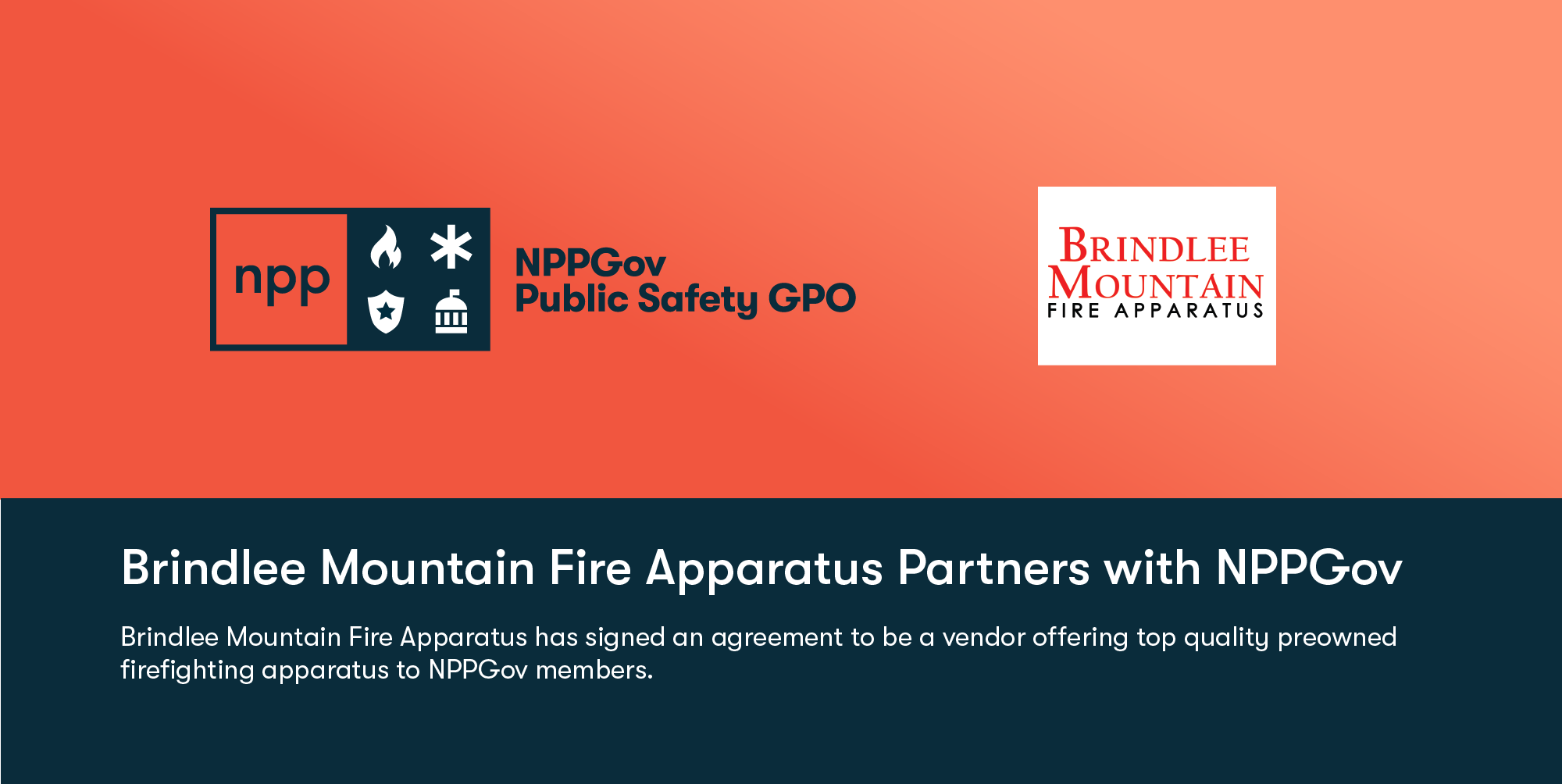Brindlee Mountain Fire Apparatus Partners with NPPGov
