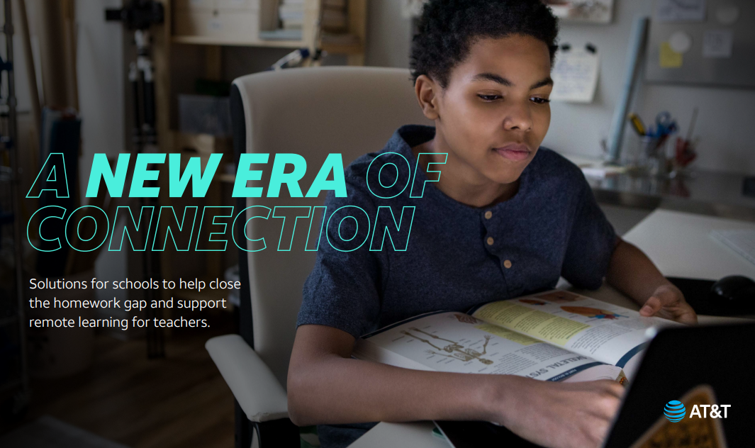 AT&T Helps Close the Homework Gap
