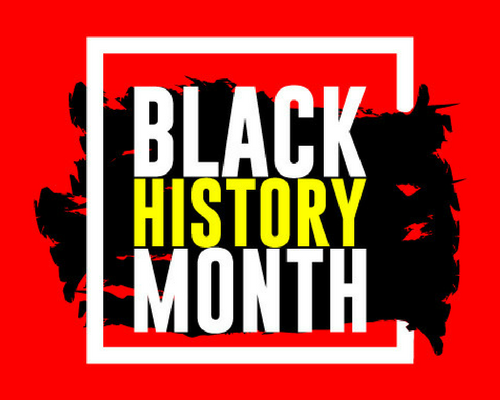 Black History Month Header Image