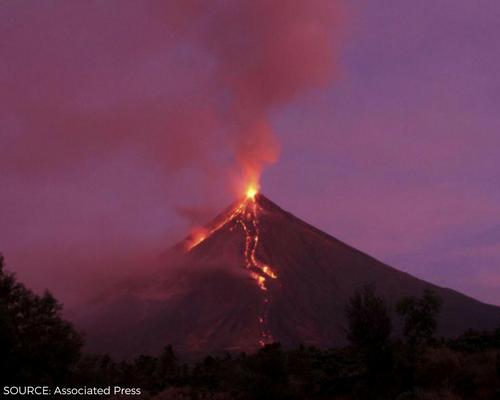 Mt. Mayon Eruption Header Image