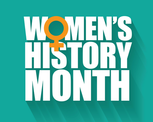 March is Women's History Month Header Image