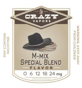 M-mix Special Blend eliquid