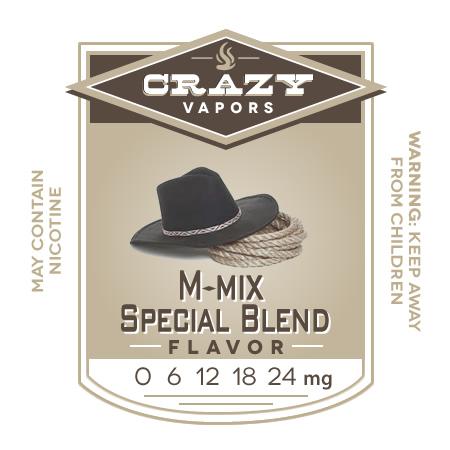 M-mix Special Blend eliquid