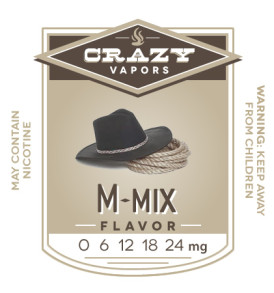 M-mix eliquid