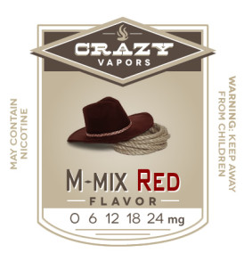 M-mix Red eliquid