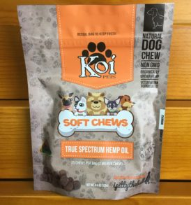 CBD pet chews