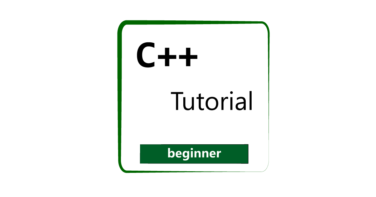 C++ Programming Beginners [Tutorial] – C Standard Library