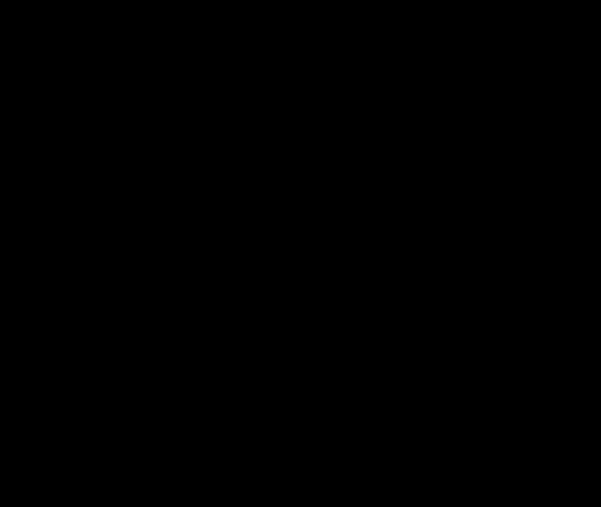 Marca slogan negro curvas