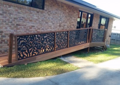 Hardwood Timber Access Ramp Boambee East June 2019