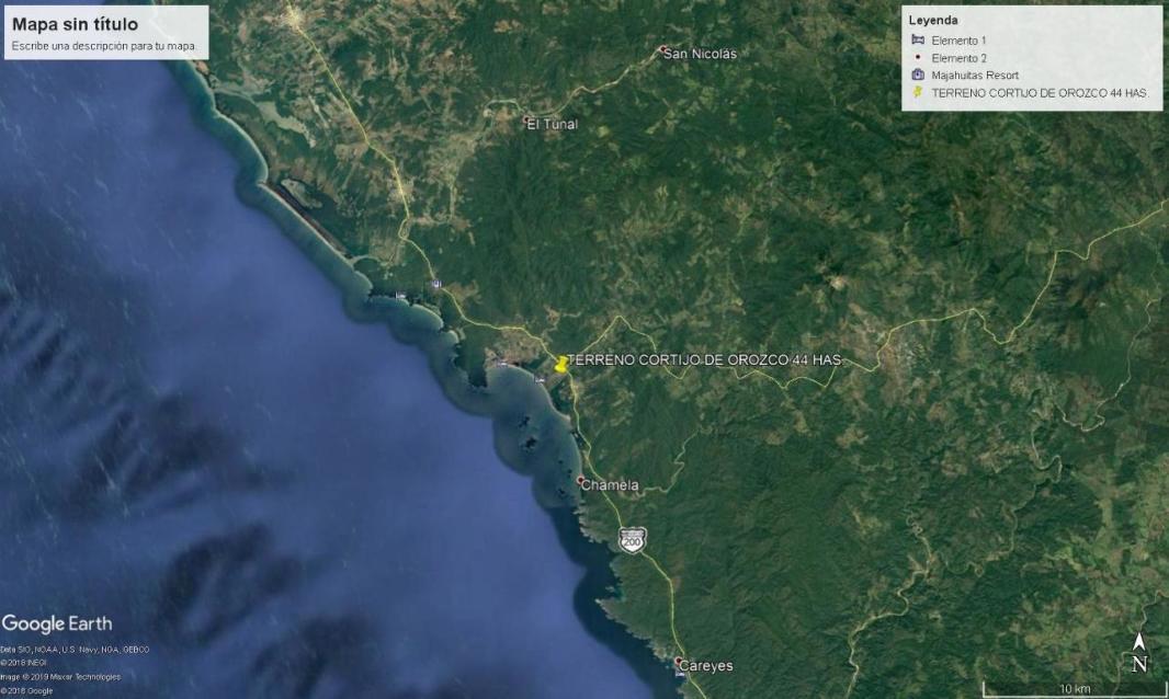 OCEAN FRONT LOT BAHIA DE CHAMELA JALISCO