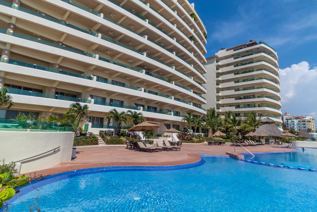 Ocean Terrace 1505, Condo frente al mar en Nuevo Vallarta