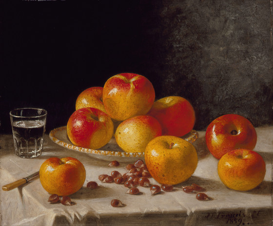 Still Life, Apples and Chestnuts | LACMA Collections