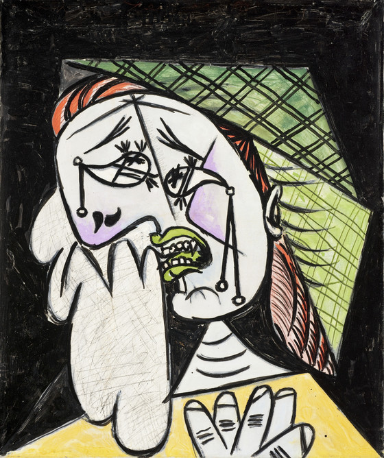 Image result for picasso weeping