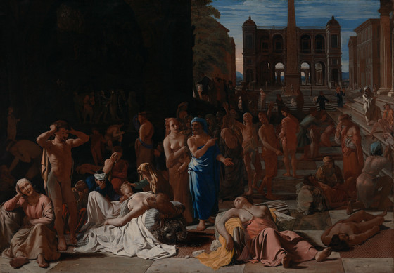 Plague In An Ancient City LACMA Collections