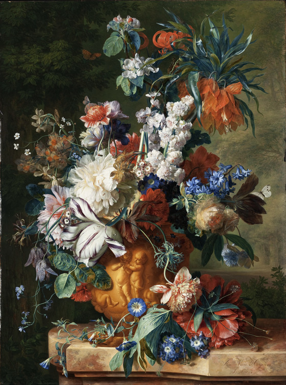 Bouquet of Flowers in an Urn | LACMA Collections
