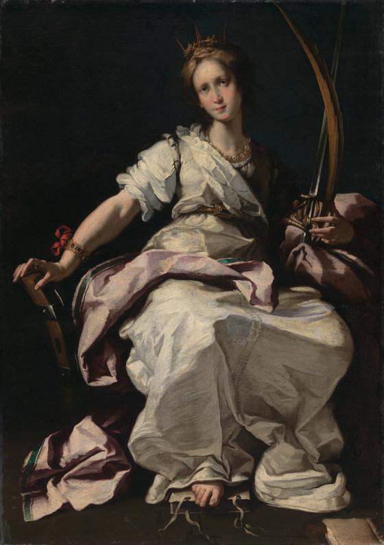 saint catherine of alexandria lacma collections