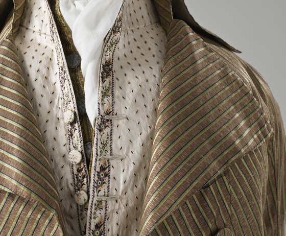 Detail, 1790s Incroyables ensemble