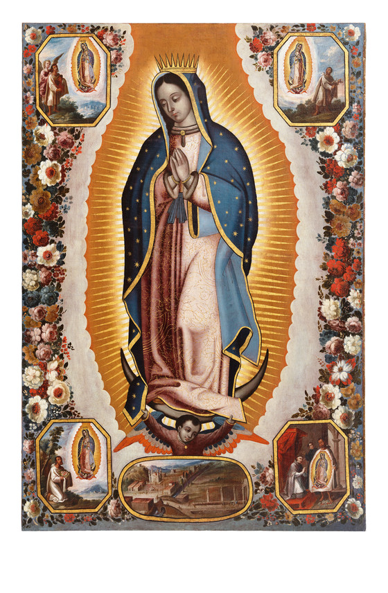 Virgin Of Guadalupe Virgen De Guadalupe Lacma Collections